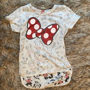 Other - Girls Minnie mouse shirt
